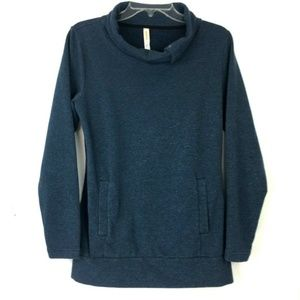 Lucy Soft Funnel Neck Yoga Pullover